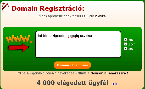 Domain ellenőrző